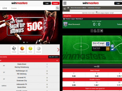 Winmasters mobile betting